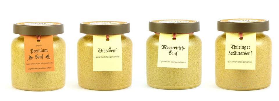 Premiumsenf aus der Kleinhettstedter Senfmühle online bestellen